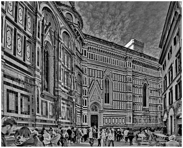 Florentine Crowd by Kemmuna