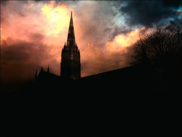Salisbury cathedral. by niknakpaddywhack