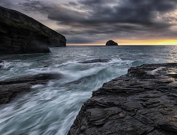 Trebarwith Waves. by Buffalo_Tom