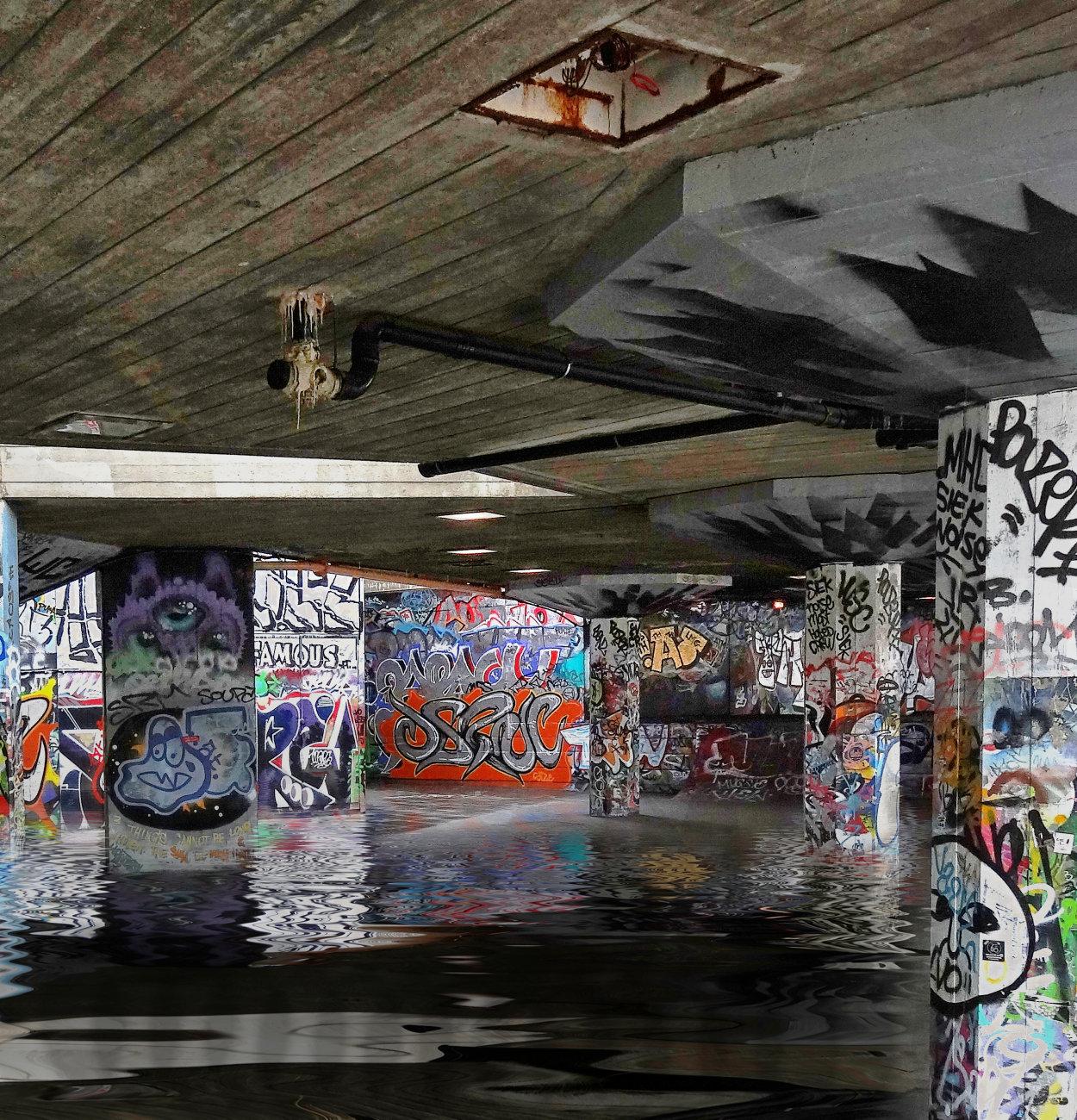 Flooded Graffiti