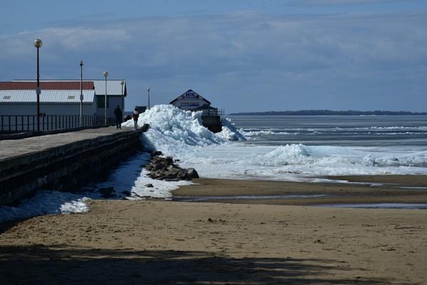 Another ice tsunami shot by djh698