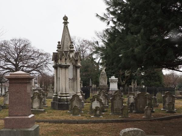 Laurel Hill Cemetery #4 by handlerstudio