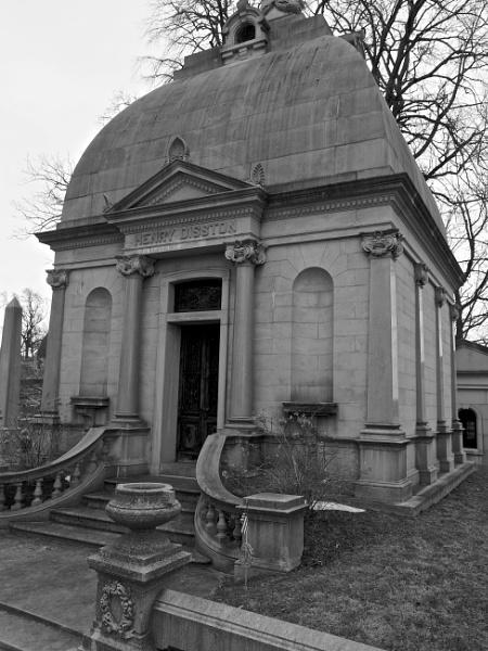 Laurel Hill Cemetery #10 by handlerstudio