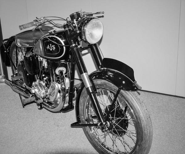 AJS Motorcycle by goochian3