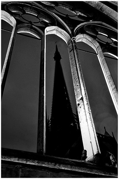 Rouen Cathedral Spire by ZenTony