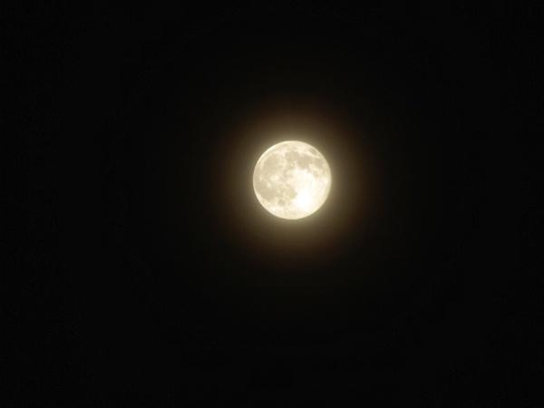 Super moon by KrazyKA
