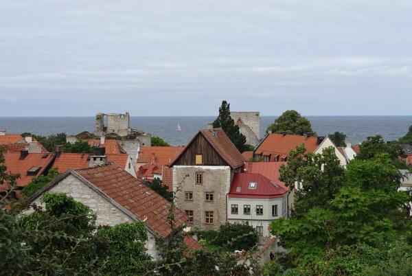 Visby Gotland Sweden by SauliusR