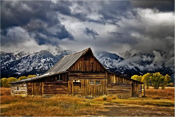 Mormon Row, by dven