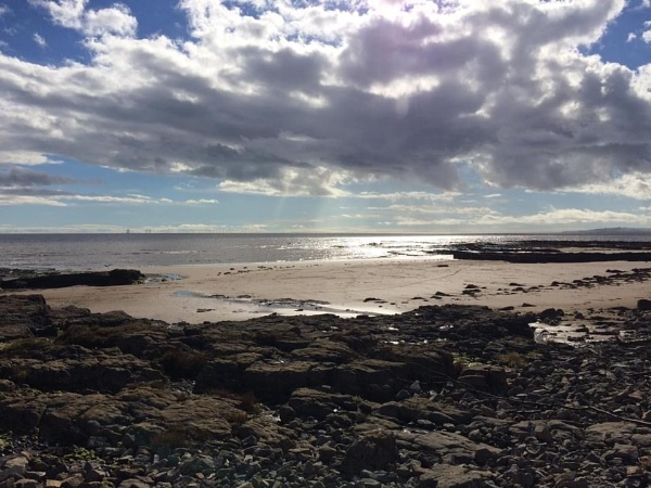 Beach in Dumfries and Galloway by topcatj