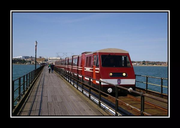 Southend Pier by Southend