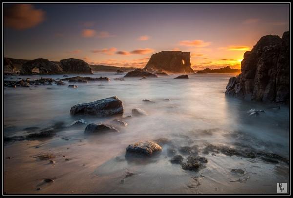 "\""Elephant Rock at Sunset\"" by DavidLaverty"