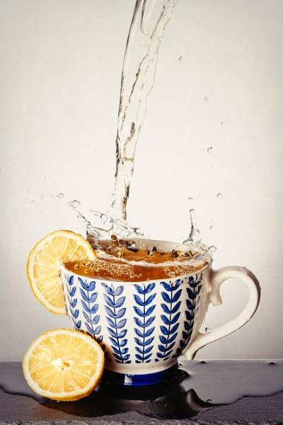 Splash of Tea by YorkeHouse