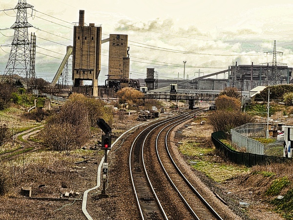 INDUSTRIAL VIEW. by kojack