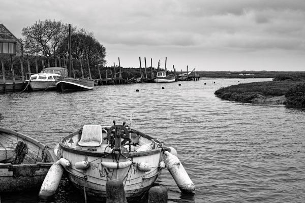 Blakeney Quayside by pdunstan_Greymoon