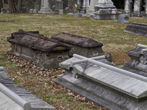 Laurel Hill Cemetery #16 by handlerstudio