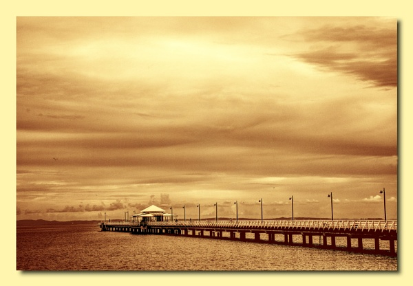 Morning at the Pier by Peco
