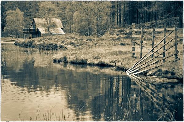 Glenisla Hill Loch by MalcolmM