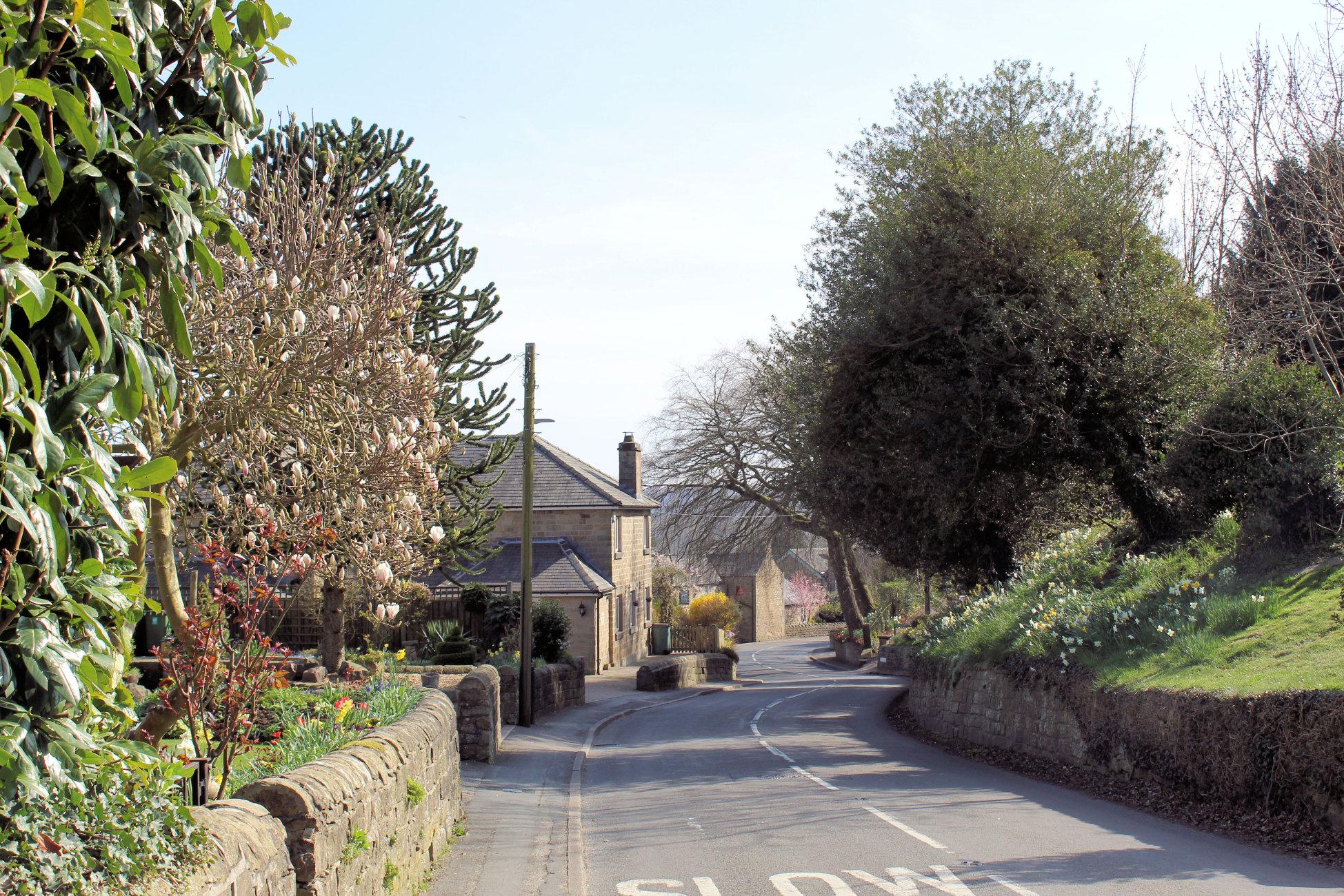 Pentrich village