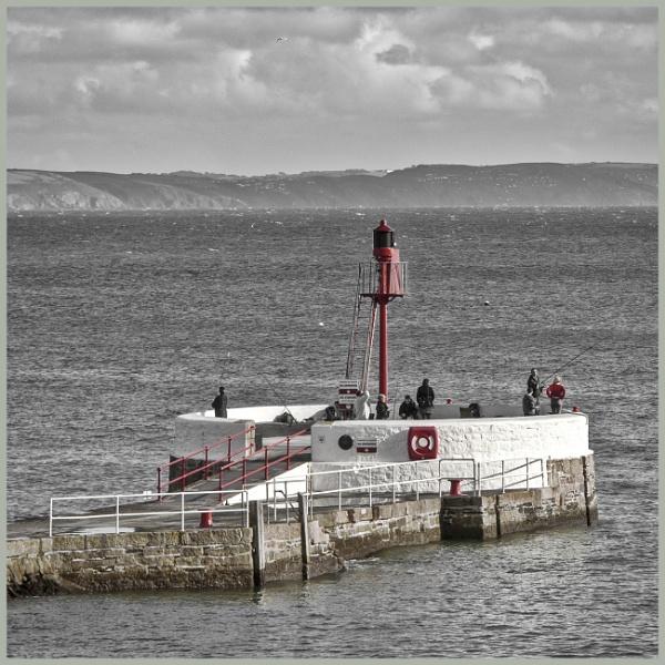 BANJO Pier Looe Cornwall