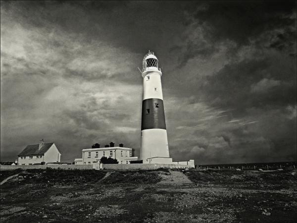 Portland Bill lighthouse. by niknakpaddywhack