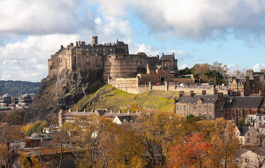 Edinburgh In Autumn