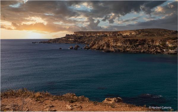 Sunset - Golden Bay by Herbert_Catania