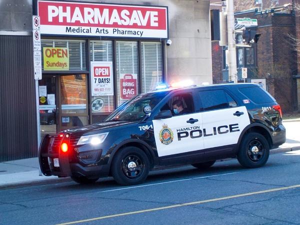 Hamilton Police Officer by TimothyDMorton