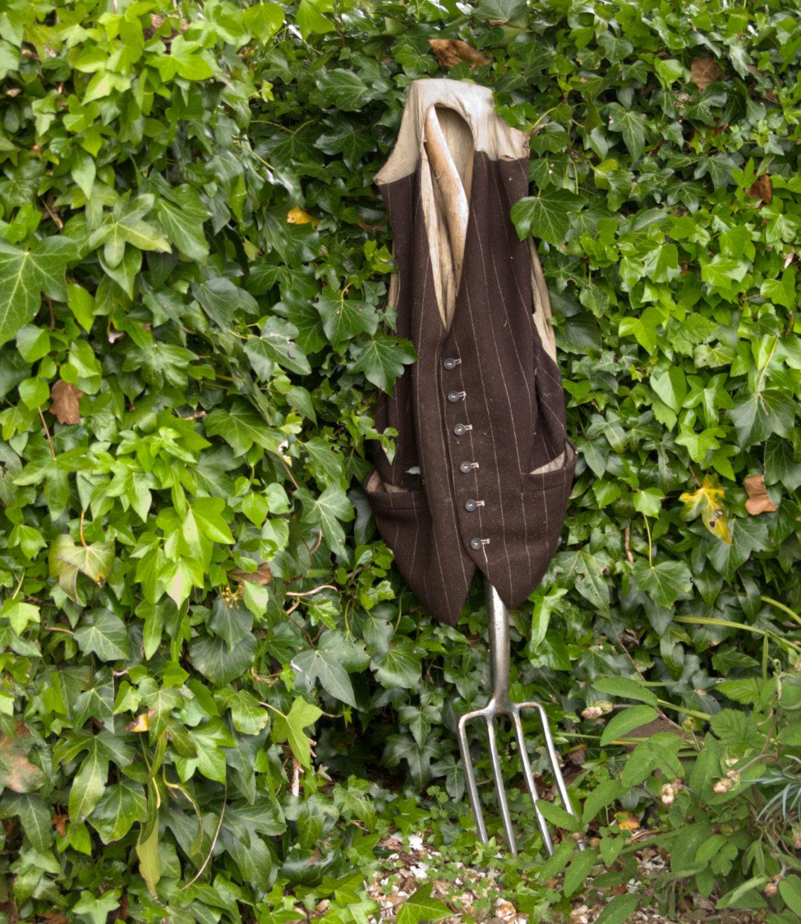 waistcoat and fork