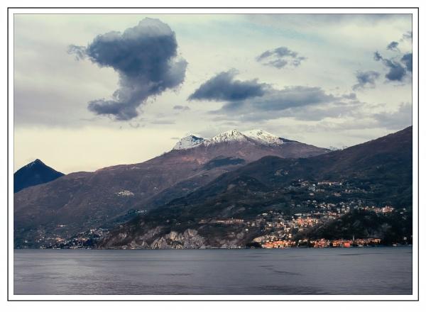 Overlooking Lake Como by Robert51