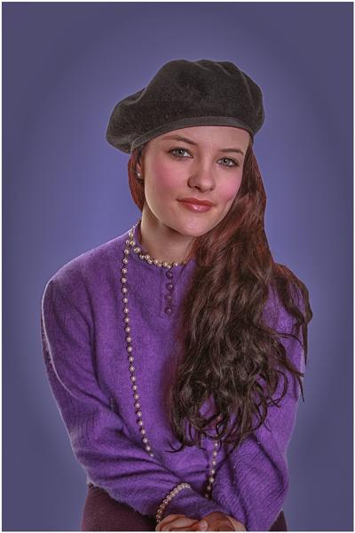 Purple Lady by stevenb