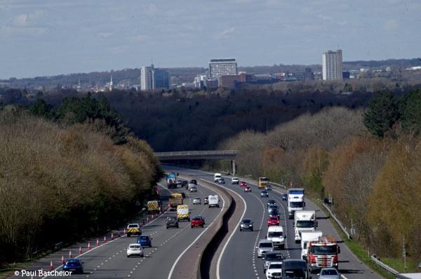 M3 Towards Basingstoke by paulb2433
