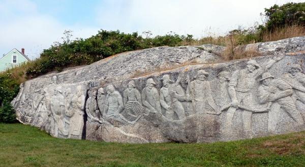 Wall Sculptures. Peggys Cove. Nova Scotia by Don20