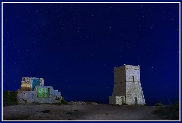 Maltese Knights Great Siege of Malta COASTAL TOWER by Edcat55