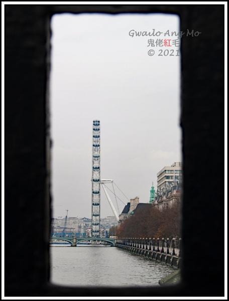 I spy a far distant Eye (from a bridge too far) by GwailoAngMo