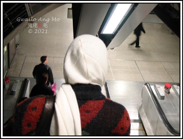 Jubilee Line Escalator by GwailoAngMo