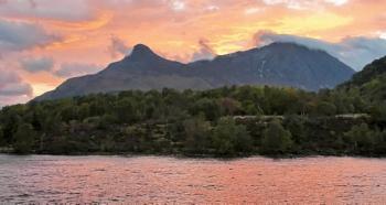 Dawn at Glen Coe