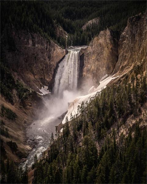 Upper Falls by KingBee