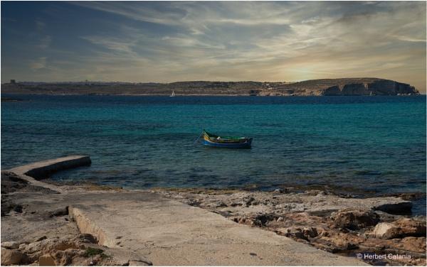 "The Maltese \'Luzzu\"" by Herbert_Catania"