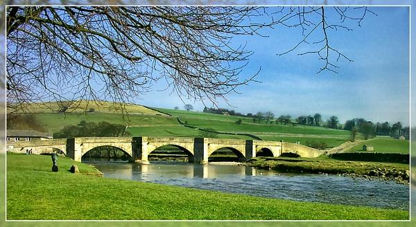 Burnsall Bridge by Sylviwhalley