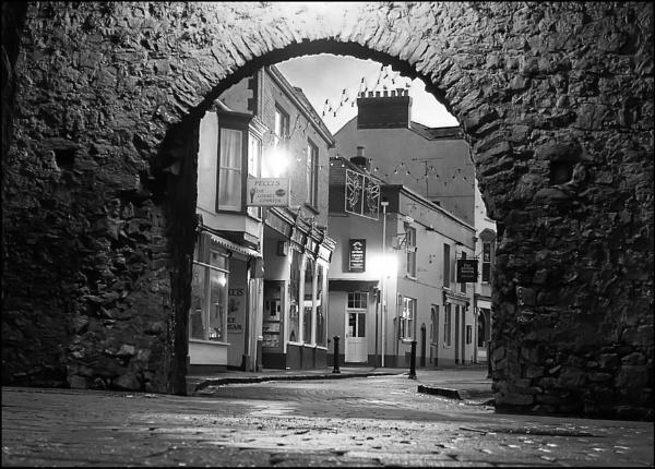 Tenby Arches by glyndwr