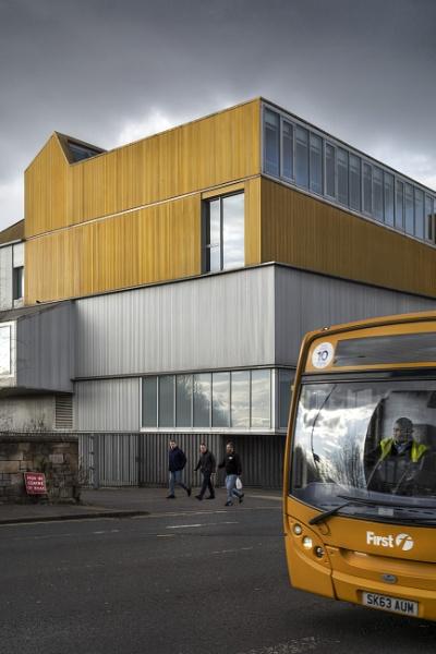 Glasgow, Scottish Ballet Building  by AndrewAlbert