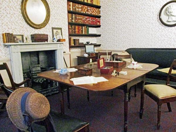 Inside the Bronte Parsonage by Hurstbourne