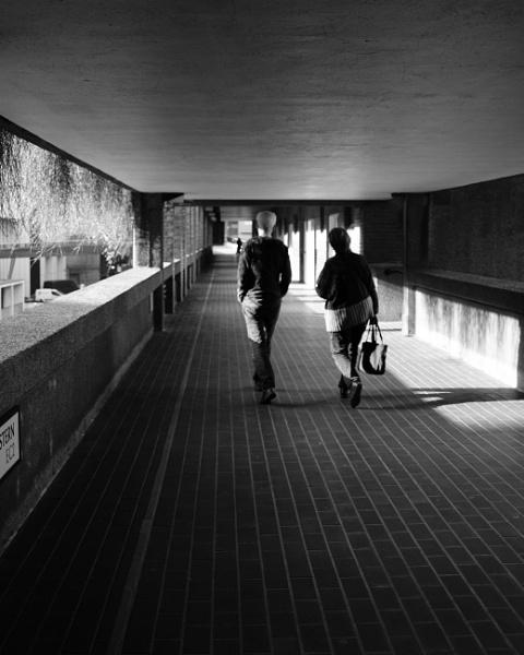 Barbican walkways by iNKFIEND