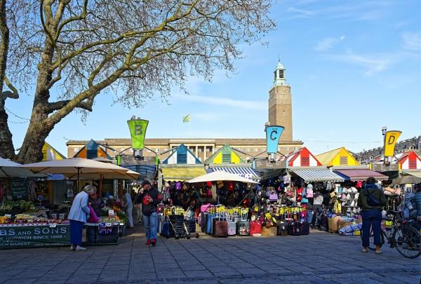 Norwich Market by pdunstan_Greymoon