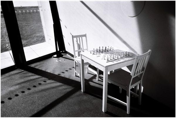 Imagine....John Lennon playing chess by ZenTony