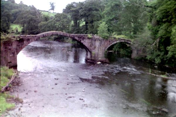 Cromwells Bridge, River Hodder, Lancashire by Don20