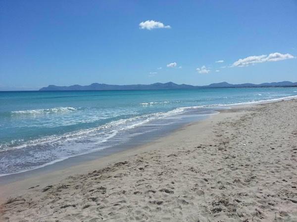 Deserted beach near Alcudia Majorca Spain by topcatj