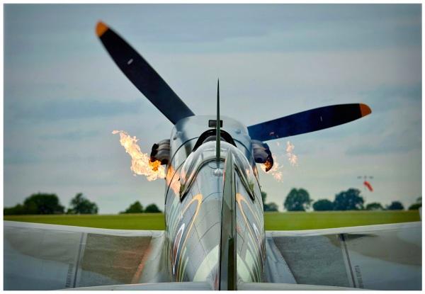 Spitfire by Carlos9