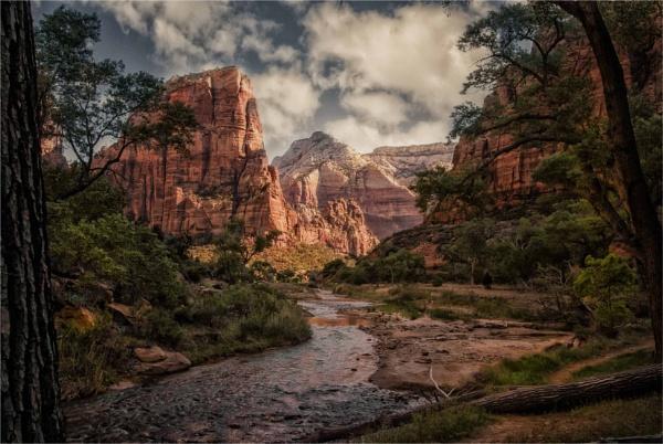 Virgin River, Zion by KingBee