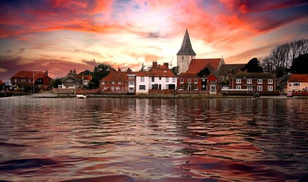 The Village of Bosham on Chichester Harbour by sandwedge